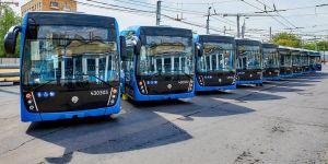Более двухсот электробусов, работающих на 14 маршрутах города Москвы, перевезли более 11 миллионов пассажиров